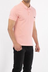 Lee Cooper - Tricou tip polo cu logo brodat