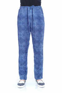PANTALONI LUNGI DAMA ESTATE BLUE TIMEOUT