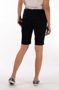 Timeout - Pantaloni scurti dama cu buzunare si culoare uni