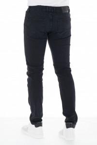 KVL - Blugi barbat slim fit culoare uni