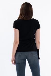KVL - Tricou maneca scurta cu imprimeu lucios