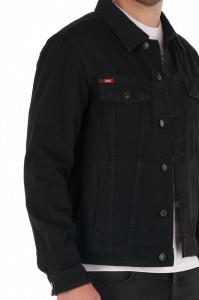 Lee Cooper - Jacheta barbat din denim cu buzunare pe piept