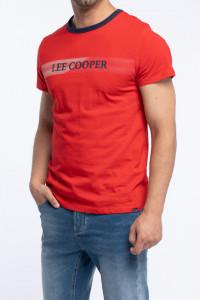 Lee Cooper - Tricou barbat cu maneca scurta si logo pe piept
