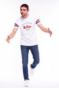 Lee Cooper - Tricou cu maneca scurta si detalii la maneci
