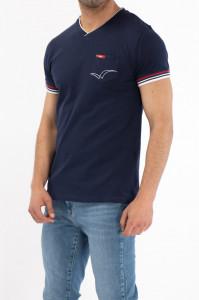 Lee Cooper - Tricou din bumbac cu buzunar aplicat