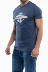 Lee Cooper - Tricou din bumbac cu imprimeu pe piept