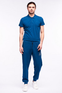 Timeout - Pantaloni de traning cu logo si buzunare cu fermoar
