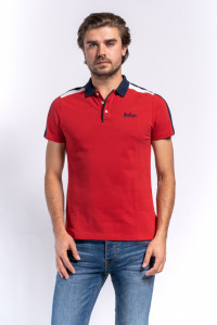 TRICOU MANECA SCURTA TIP POLO BARBAT CHILLI PEPPER LEE COOPER