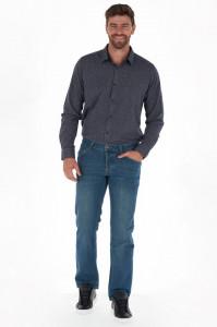 KVL - Blugi lungi barbat regular fit culoare deschisa