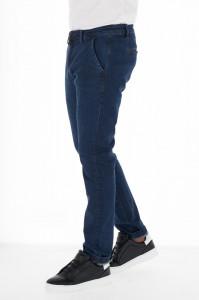 KVL - Blugi lungi chino barbat culoare uniforma
