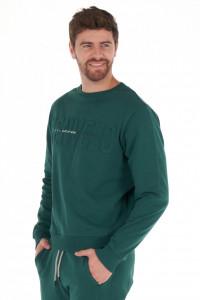 KVL - Bluza barbat cu maneca lunga si logo texturat