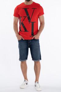 KVL - Tricou barbat cu model tip logo