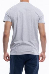 KVL - Tricou barbat din bumbac cu logo pe piept