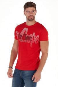 Lee Cooper - Tricou barbat cu maneca scurta si model tip logo imprimat