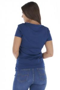 Lee Cooper - Tricou dama cu maneca scurta si imprimeu logo