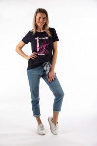 Montecristo - Tricou dama cu imprimeu artistic