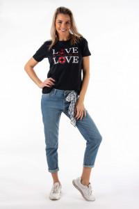 Montecristo - Tricou dama cu imprimeu mesaj