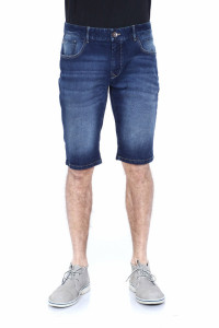 PANTALONI DENIM BERMUDA BARBAT DARK BLUE TIMEOUT