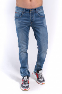 PANTALONI DENIM LUNGI BARBAT LIGHT BLUE LEE COOPER