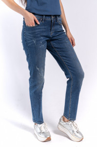 PANTALONI DENIM LUNGI DAMA DARK BLUE LEE COOPER