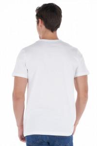 KVL - Tricou barbat cu maneca scurta si imprimeu in dungi