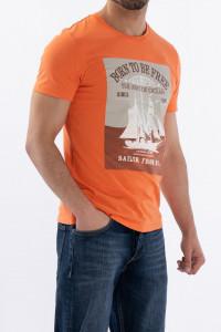 KVL - Tricou din bumbac cu imprimeu