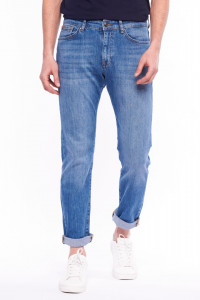 Lee Cooper - Blugi straight fit cu aspect decolorat