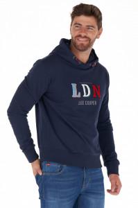 Lee Cooper - Bluza barbat cu gluga si logo