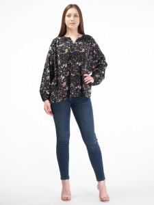 Martinez by Timeout - Camasa vaporoasa oversize cu imprimeu floral