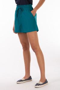 Timeout - Bermude subtiri dama cu buzunare si banda elastica