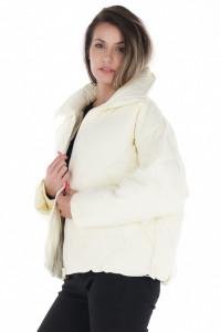 KVL - Jacheta dama oversize cu guler inalt