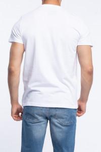 KVL - Tricou barbat cu maneca scurta si model imprimat