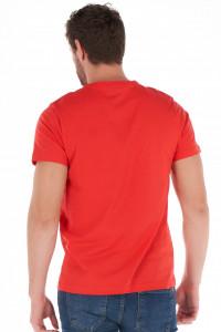 KVL - Tricou barbat din bumbac cu model imprimat