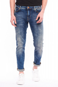 Lee Cooper - Blugi slim cu aspect decolorat
