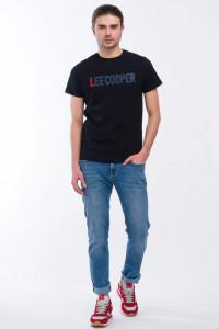 Lee Cooper - Blugi slim fit cu aspect decolorat