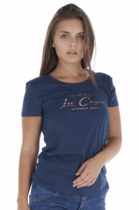 Lee Cooper - Tricou dama cu logo imprimat