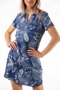 Montecristo - Rochie tip tunica cu imprimeu floral