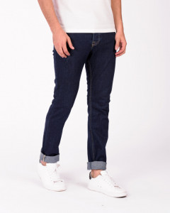 PANTALONI DENIM LUNGI BARBAT DARK DENIM KVL