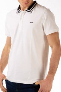 Timeout - Tricou barbat tip polo cu logo aplicat