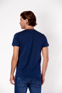 TRICOU MANECA SCURTA BARBAT NEW DARK DENIM KVL