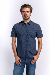 CAMASA MANECA SCURTA BARBAT DARK BLUE LEE COOPER