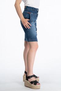 Lee Cooper - Fusta dama din denim cu buzunare