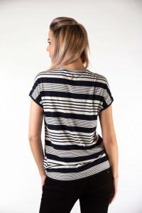 Montecristo - Tricou dama cu imprimeu in dungi