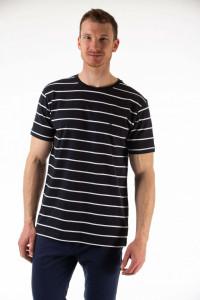 Montecristo - Tricou maneca scurta cu imprimeu in dungi