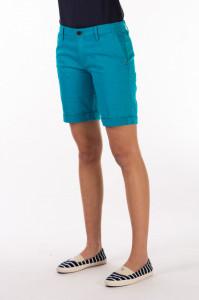 Timeout - Bermude dama cu buzunare oblice si culoare uni