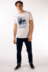 Timeout - Tricou barbat din bumbac cu imprimeu