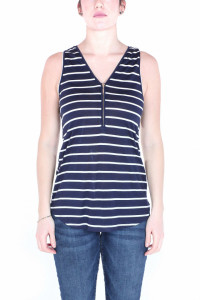 TRICOU MAIOU DAMA FANCY NAVY TIMEOUT