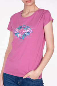 TRICOU MANECA SCURTA DAMA ROSE VIOLET LEE COOPER