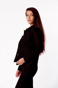 JACHETA DENIM DE GROSIME DAMA BLACK LEE COOPER