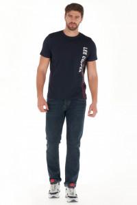 Lee Cooper - Blugi barbat straight fit cu aspect putin decolorat